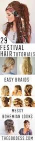 Easy Simple Hairstyles For Medium Hair by Best 25 Festival Hair Ideas On Pinterest Festival Hairstyles
