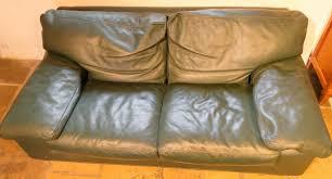 canap cuir vert achetez canapé cuir vert occasion annonce vente à tourlaville 50