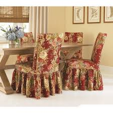 Dining Room Chair Slip Cover Sure Fit Waverly Ballad Bouquet Dining Room Chair Slipcover Free