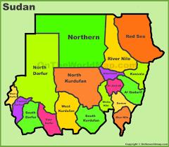 Sudan Africa Map by Sudan Maps Maps Of Sudan
