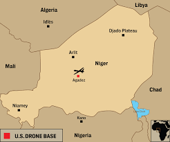 Niger River Map U S Military Is Building A 100 Million Drone Base In Africa