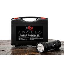 apollo power and light apollo flashlight survival kit cyclops gear