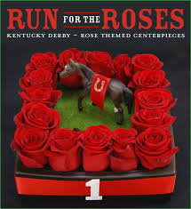roses centerpieces kentucky derby party run for the roses centerpiece ideas