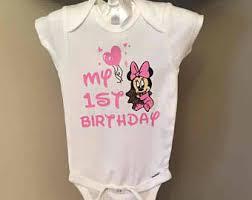 1st birthday onesie 1st birthday onesie etsy