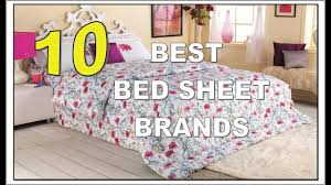 10 best bed sheet brands in india youtube