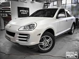 porsche cayenne matte black vehicle vinyl wrapping and car paint protection 11
