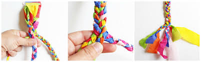 braid hand bracelet images Design for kids crepe paper bracelets babble dabble do jpg