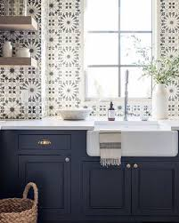 white kitchen cabinets with blue tiles 36 best beautiful blue and white kitchens to hello