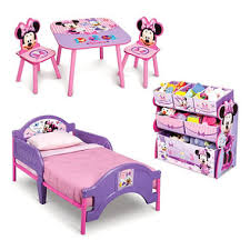 Minnie Mouse Bed Frame Delta Children Minnie Mouse 3 Piece Toddler Bedroom Set Sam U0027s Club