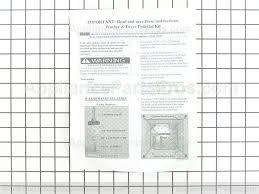 Frigidaire Washer Dryer Pedestal Frigidaire 134176400 Pedestal Hardware Kit Appliancepartspros Com