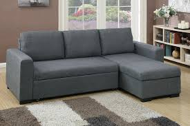 Sofa Sleeper With Storage Poundex 2 Pcs Pull Out Sofa Sleeper With Storage F6931