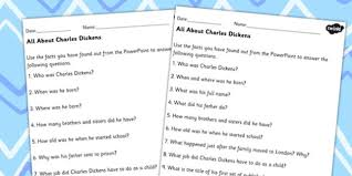 all about charles dickens differentiated comprehension