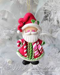 handcrafted polymer clay ornament by miller at my joyful