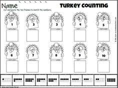kindergarten fall thanksgiving cut and paste worksheets give