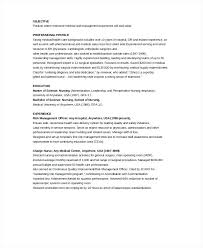 Template Resumes by Nursing School Resume Template Fancy Objective Exles For Your