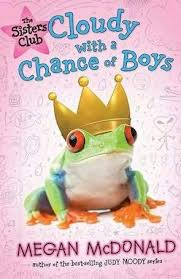 book review sisters club cloudy chance boys