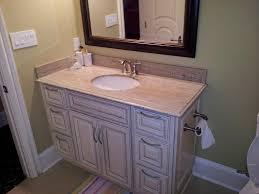 antique white glazed bathroom vanity amber white granite