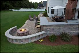 Patio Firepit Backyard Backyard Patio Designs Awesome Brilliant Outdoor Patio