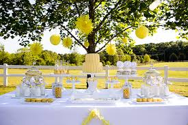 Baby Shower Decorations Yellow Baby Shower Sweetly Chic Events U0026 Design