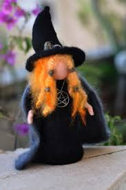 Halloween Gifts Pinterest 153 Best Hexe Images On Pinterest Needle Felting Halloween