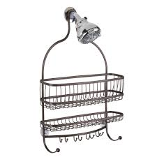 amazon com interdesign york lyra bathroom jumbo shower caddy