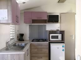 cuisine mobile mobile home rental 4 in marseillan 2 bedrooms 24m2