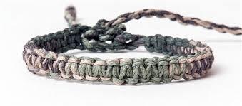 thread cord bracelet images Hemp cord macrame bracelet anklet natural yellow jpg