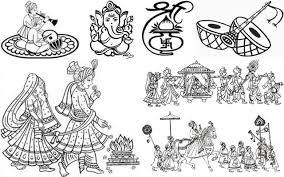 wedding invitation symbols indian wedding card symbols tbrb info