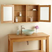 Bamboo Wall Cabinet Bathroom 36