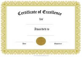 free printable certificates templates free printable certificates