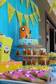 22 best project moodboard spongebob cake and desserts table