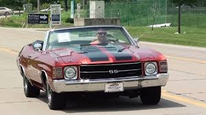 test driving 1971 chevrolet chevelle ss 454 big block convertible