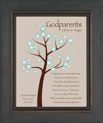 godparents gift 8x10 print personalized gift for godmother