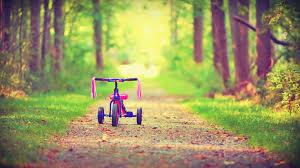 kids bicycle wallpaper