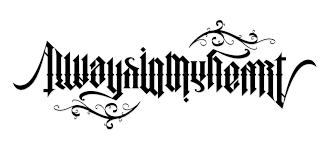 it u0027s tattoo time u2026 unterart ambigram design