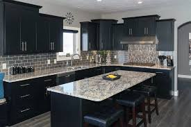 Black Cabinets Kitchen Beautiful Black Kitchen Cabinets Design Ideas Designing Idea