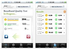mobile speed test android fcc goes mobile launches iphone android apps for crowdsourced