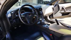 2010 corvette interior zr1 2010 zr1 3zr black with black trim interior 15k