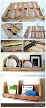 process of making a shelf out of a pallet rochelle price crafts
