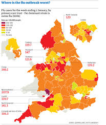 Somerset England Map Swine Flu Data In The Uk See How Bad Cases Are Where You Live