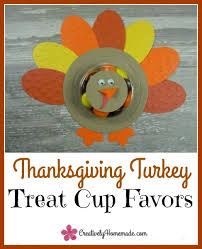 turkey thanksgiving favors for creatively