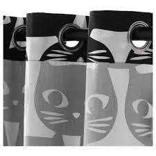 Black And White Striped Curtains Ikea Mattram Curtains 1 Pair Ikea