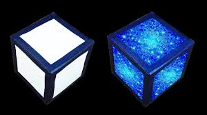 how to make magic lantern cube christmas and home decorating