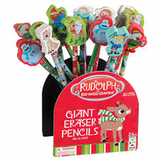 writing instruments rudolph red nosed reindeer pencil