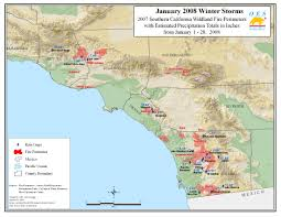 California Wildfire Fire Map by Ca Oes Fire Socal 2007