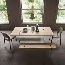 tavoli design cristallo tavolo di design in legno e cristallo glassy arredaclick