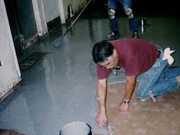 epoxy floor paint with latex faux finish