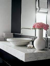 marble bathroom countertops hgtv