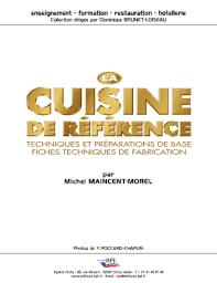 edition bpi cuisine fillable editions bpi la cuisine de rfrence techniques et