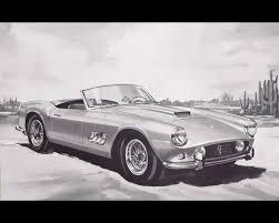 Ferrari California 1960 - 250 gt california spyder 1959 with factory hard top